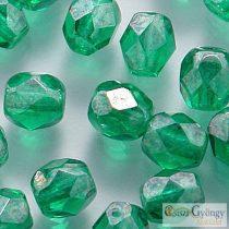 Luster Emerald - 40 db - 4 mm csiszolt gyöngy (L50730)