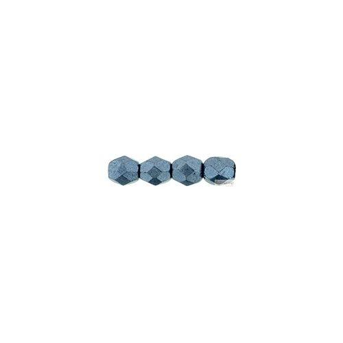 ColorTrends Saturated Metallic Niagara - 40 db - 4 mm csiszolt üveggyöngy (77061CR)