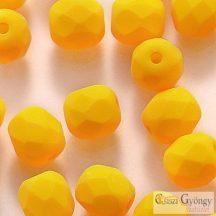 Neon Sunflower - 40 db - csiszolt gyöngy 4 mm (25143AL)