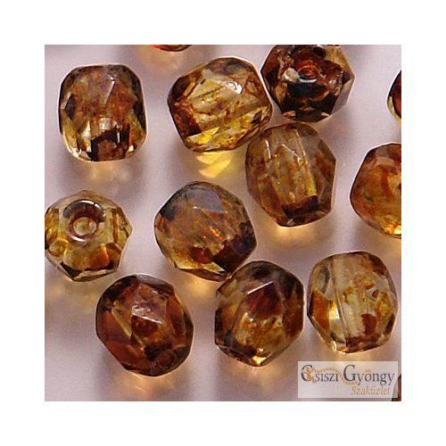 Crystal Picasso - 40 db - 4 mm csiszolt gyöngy (T00030)