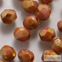Luster Alabaster - 40 pc. - 4 mm Fire-polished Beads (AK02010)