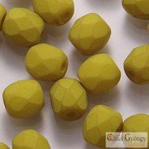 Lemongrass - 40 db - 4 mm csiszolt gyöngy (29535AL)