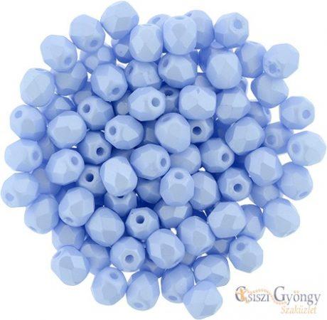 Powdery Pastel Blue - 40 db - 4 mm csiszolt gyöngy (29310AL)