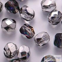 Crystal Heliotrope - 40 db - 4 mm csiszolt gyöngy (H29536)
