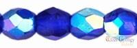 Cobalt AB - 20 db - 6 mm csiszolt gyöngy (X30080)