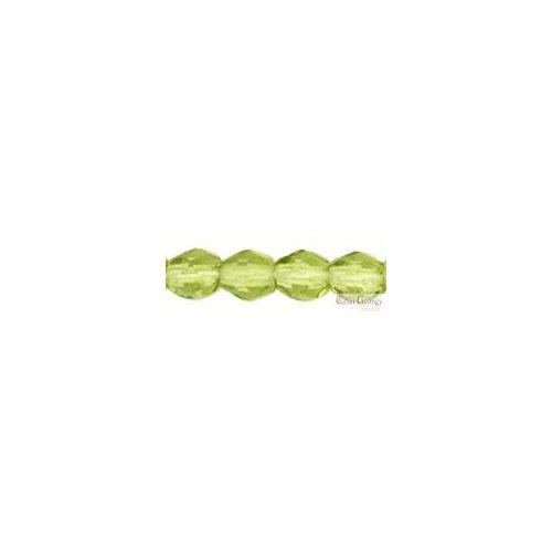 Olivine - 20 db - 6 mm csiszolt gyöngy (50230)