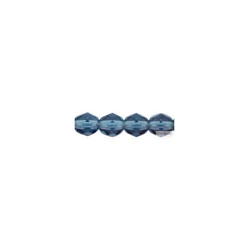Montana Blue - 20 db - 6 mm csiszolt gyöngy (30330)
