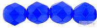 Milky Blue - 20 db - 6 mm csiszolt gyöngy (32020)