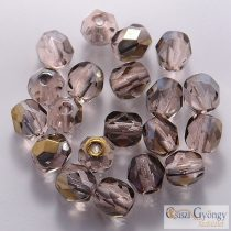 Bronze Iris Rosaline - 20 Stk. - Glasschliffperlen 6 mm (ZR70110)