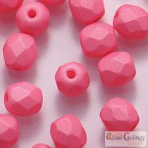 Saturated Pink - 20 pcs. - 6 mm Fire-olished Beads (29560AL)