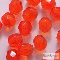 Hyacinth - 40 db - csiszolt gyöngy 4 mm (90060)