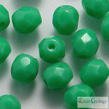 Green Turquoise - 40 db - 4 mm csiszolt gyöngy (53130)