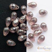 Chalk White - 1 Stk. - Pressed Drop, Grösse: 8x11 mm