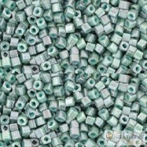 Marble Opaque Turquoise/Blue - 10 g - 1.5 Toho Cube Beads (1207)