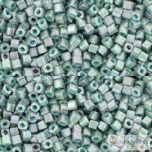Marble Opaque Turquoise/Blue - 10 g - 1.5 Toho Cube, kocka gyöngy (1207)