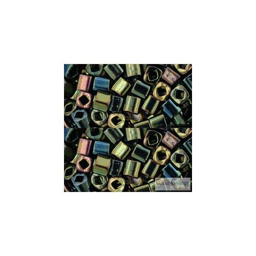 Metallic Iris Green Brown - 10 g - 4 mm Toho Cube (84)
