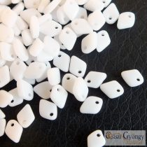 Opaque White - 2.5 g - Dragon Scale Beads 1.5x5 mm