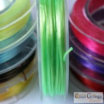 Elastic Fiber Wire - 1 Roll - green, 0.8mm, about 10 meter/roll