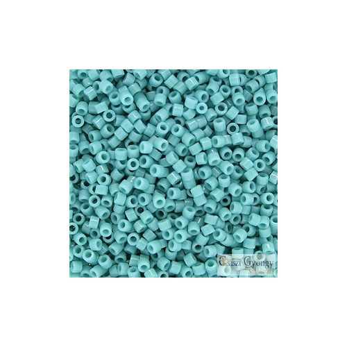 0729 - Opaque Turquoise - 5 g - 11/0 Delica gyöngy