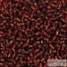 1202 - Silver Lined Dark Cranberry - 5 g - 11/0 Miyuki Delica gyöngy