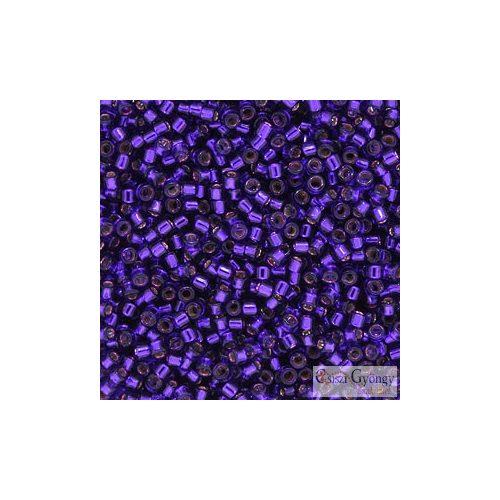 0610 - Silver Lined Blue Violet - 5 g - 11/0 Miyuki Delica gyöngy