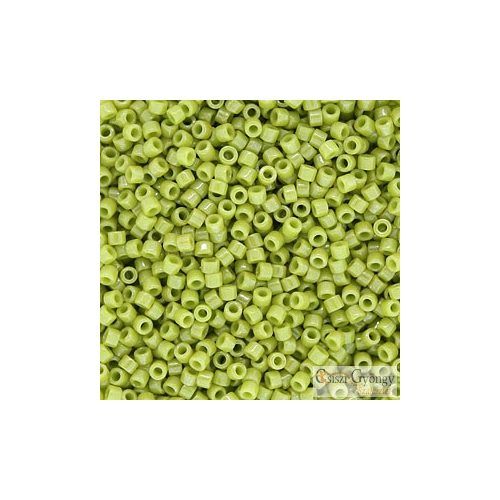 0262 - Opaque Luster Chartreuse - 5 g - 11/0 Miyuki Delica gyöngy