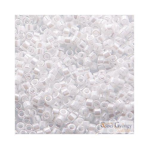 0201 - Pearl White - 5 g - 11/0 Delica gyöngy