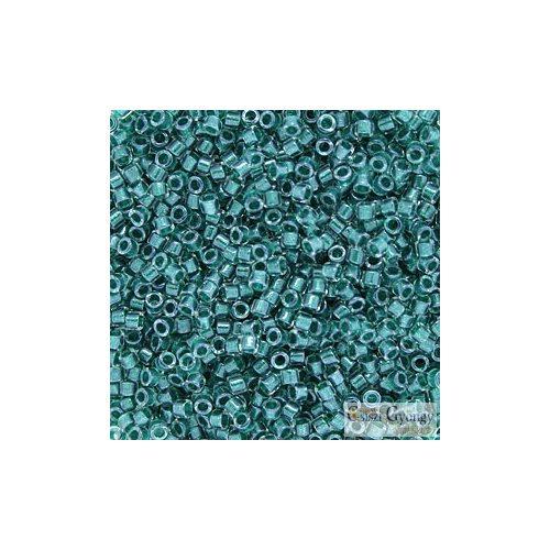 0918 - Sparkling Teal Lined Crystal - 5 g - 11/0 Delica gyöngy