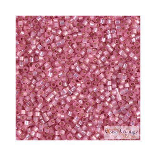0625 - Silver Lined Pink Alabaster - 5 g - 11/0 delica