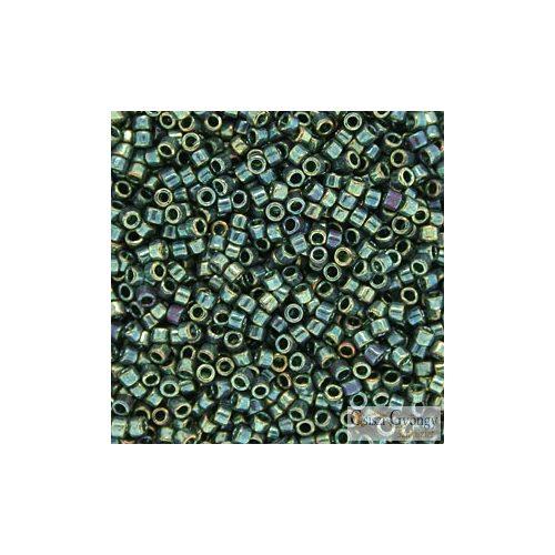 0125 - Transp. Gold Luster Emerald - 5 g - 11/0 delica