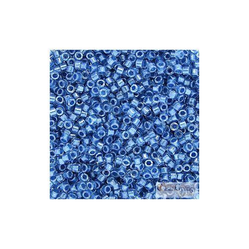 0905 - Sparkling Blue Lined Crystal - 5 g - 11/0 Miyuki Delica gyöngy