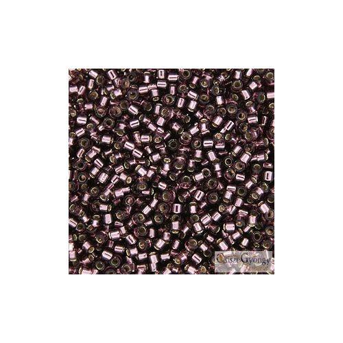 1204 - Silver Lined Amethyst - 5 g - 11/0 delica gyöngy