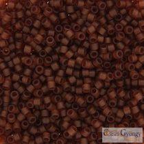 0764 - Matte Transparent Amber - 5 g - 11/0 Miyuki Delica Beads