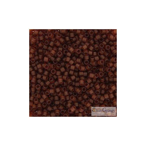 0764 - Matte Transparent Amber - 5 g - 11/0 Miyuki Delica gyöngy