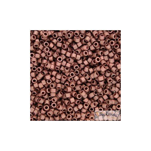 0340 - Matte Copper - 5 g - 11/0 Delica gyöngy