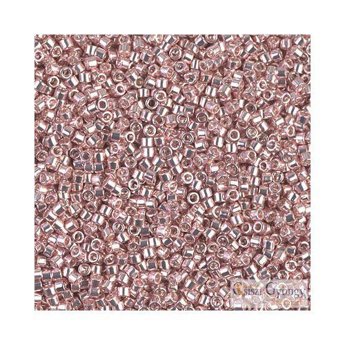 0418 - Galv. Dyed Soft Rose - 5 g - 11/0 Miyuki Delica gyöngy