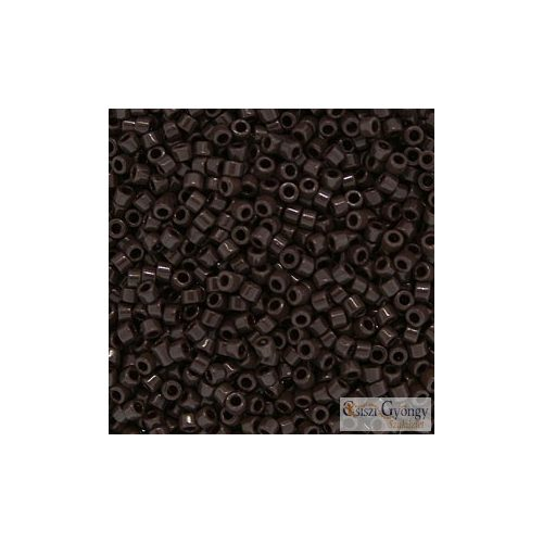0734 - Opaque Choco Brown - 5 g - 11/0 Miyuki Delica gyöngy