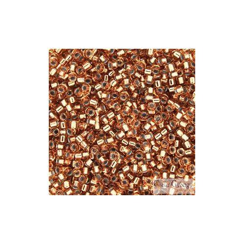 0181 - Copper Lined Lt. Bronze - 5 g - 11/0 delica gyöngy