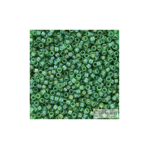 0858 - Matte Green AB - 5 g - 11/0 delica gyöngy