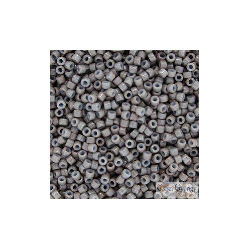 0652 - Dyed Opaque Grey - 5 g - 11/0 delica gyöngy