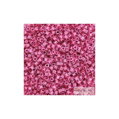 0914 - I.C. Rose Lined Cyrstal - 5 g - 11/0 Miyuki Delica gyöngy