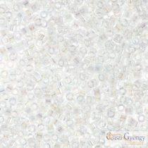 0051 - Transparent Crystal AB - 5 g - 11/0 Miyuki Delica beads
