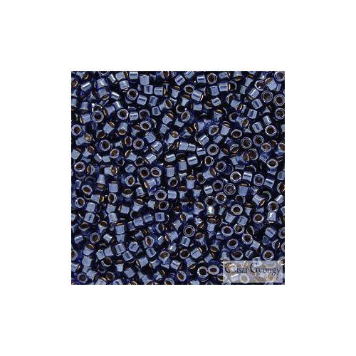 0278 - Lined Luster Dark Blue - 5 g - 11/0 Miyuki Delica gyöngy