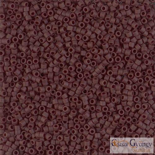 1910 - Matte Opaque Choco Brown - 5 g - 11/0 Miyuki Delica gyöngy