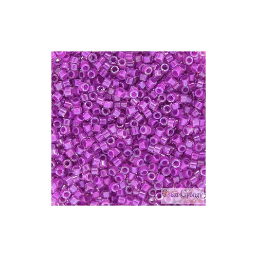 0073 - Lined Lilac AB - 5 g 11/0 delica