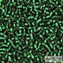 0148 - Silver Lined Emerald Green - 5 g - 11/0 Miyuki Delica gyöngy
