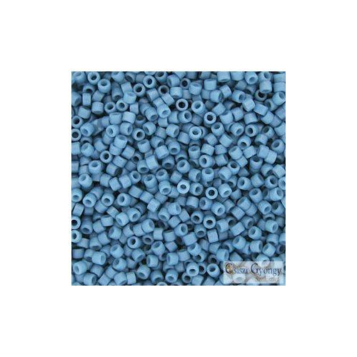0798 - Matte Opaque Capri Blue Dyed - 5 g - 11/0 delica gyöngy
