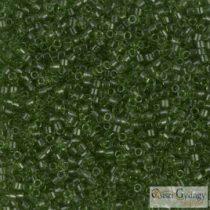 1107 - Transparent Olivine - 5 g - 11/0 Miyuki Delica beads