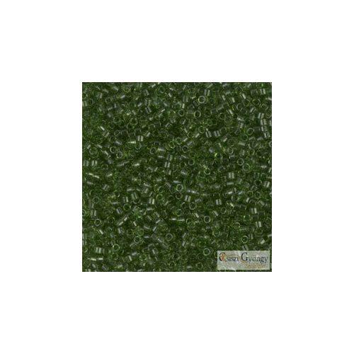 1107 - Áttetsző olajzöld - 5 g - 11/0 Miyuki Delica gyöngy
