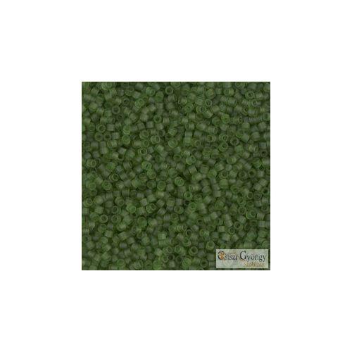 1267 - Áttetsző, matt olajzöld - 5 g - 11/0 Miyuki Delica gyöngy